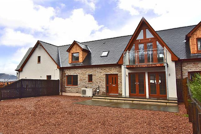 Thumbnail Terraced house for sale in Tower Ridge Courtyard, Torlundy Fort William