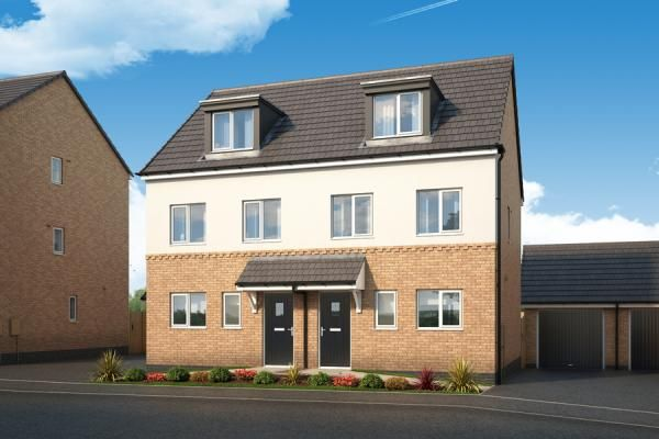 "3 bedroom property for sale in ""The Caraway At Chase Farm, Gedling"" at Arnold Lane, Gedling, Nottingham"