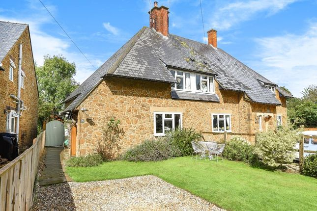 Thumbnail Semi-detached house for sale in North Newington, Banbury