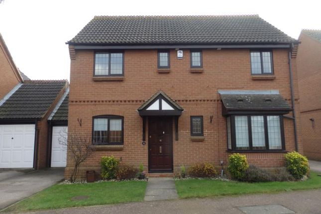 Thumbnail Detached house to rent in Denbigh Close, Marston Moretaine