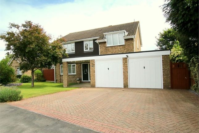 Thumbnail Detached house for sale in Coleridge Court, Eaton Ford, St. Neots
