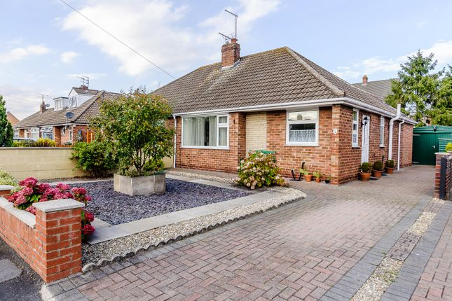 Thumbnail Semi-detached bungalow for sale in Rawcliffe Close, Rawcliffe, York