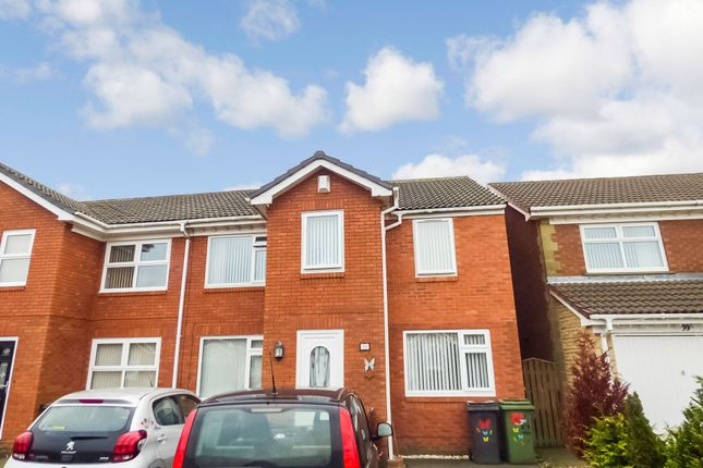 Thumbnail Semi-detached house to rent in West Pastures, Ashington