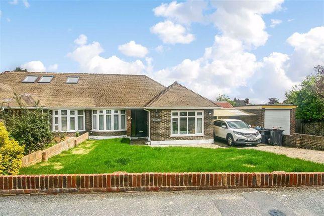 Thumbnail Semi-detached bungalow for sale in Chertsey Close, Kenley, Surrey