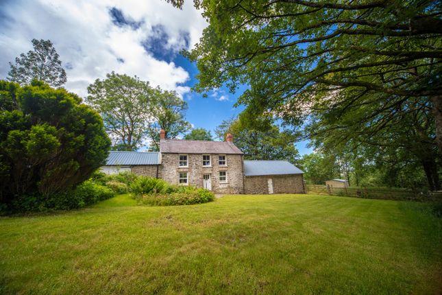 Thumbnail Land for sale in Tregaron, Ceredigion