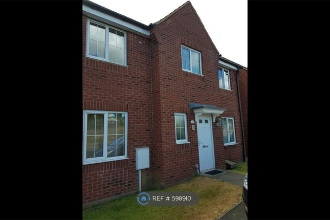 Thumbnail Detached house to rent in Lyveden Way, Corby