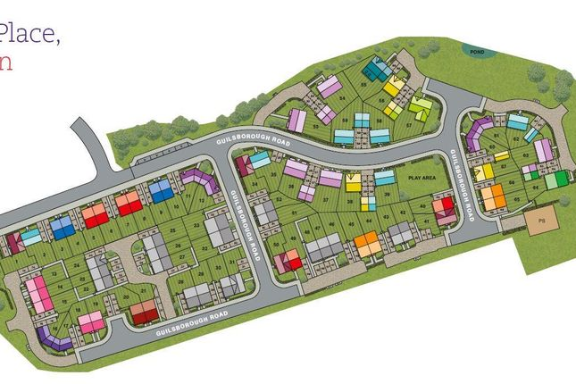 Site Plan of Guilsborough Road, Eye, Peterborough PE6