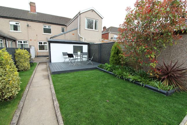 Thumbnail Terraced house for sale in Grove Road, Risca, Newport