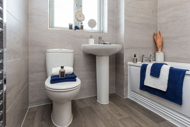 """Typical Bathroom of """"The Compton Apartments - Ground Floor 2 Bed"""" at Swallow Field, Roundswell, Barnstaple EX31"""