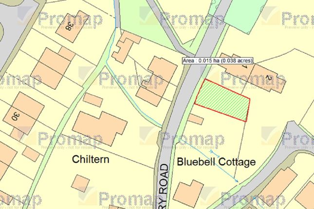 Thumbnail Land for sale in Rectory Road, Hockering, Norwich
