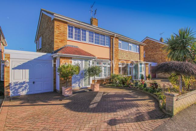 Thumbnail Semi-detached house for sale in Hunter Drive, Lawford, Manningtree