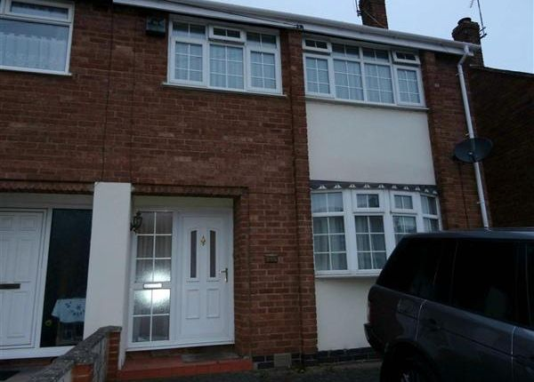 Thumbnail End terrace house to rent in Derwent Road, Coventry
