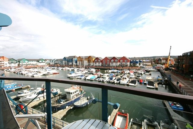 Thumbnail Flat to rent in Pierhead, Exmouth