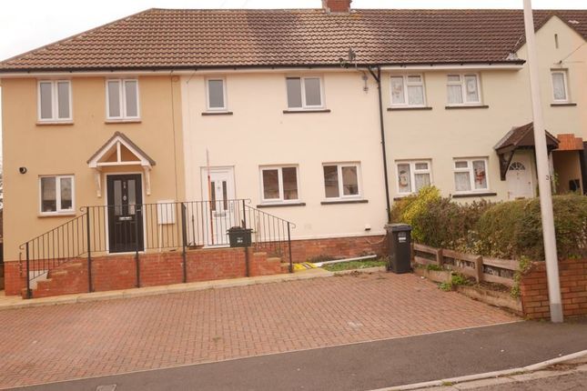 Thumbnail Terraced house to rent in The Rows, Worle, Weston-Super-Mare