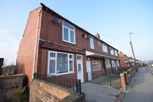 Thumbnail End terrace house to rent in Westfield Lane, South Elmsall, Pontefract