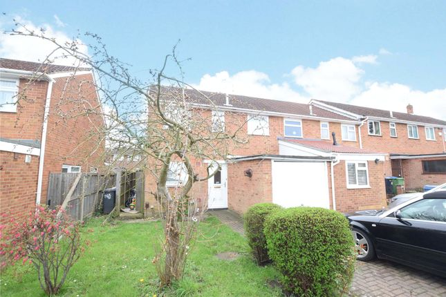 Thumbnail End terrace house to rent in Christchurch Drive, Blackwater, Camberley, Hampshire