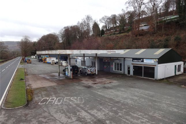 Thumbnail Detached house for sale in Dolwen Garage, Llanidloes, Powys