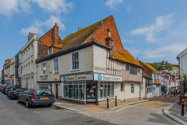 Thumbnail End terrace house for sale in Courthouse Street/High Street, Hastings Old Town