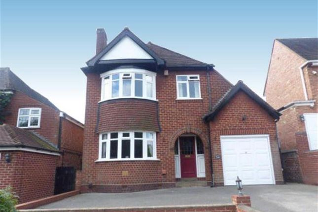 Thumbnail Detached house to rent in Chester Road North, Sutton Coldfield, West Midlands