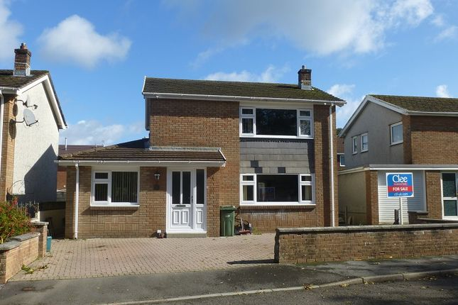 Thumbnail Detached house for sale in Ashgrove, Ammanford, Carmarthenshire.