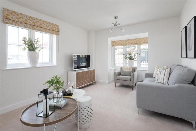 Thumbnail Semi-detached house for sale in Evabourne, Peters Village, Wouldham, Rochester, Kent