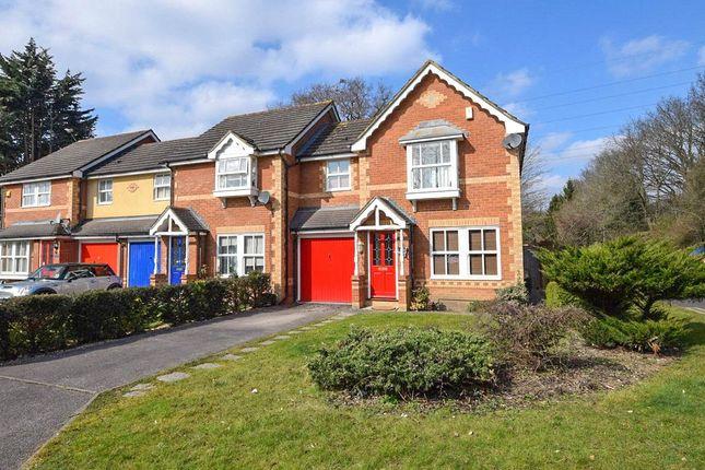 Thumbnail Link-detached house to rent in Verbena Close, Winnersh, Wokingham, Berkshire