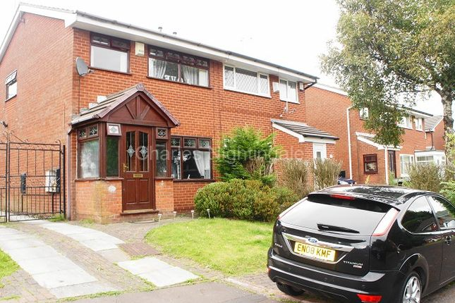 Thumbnail Semi-detached house for sale in Foxglove Court, Rochdale, Greater Manchester.