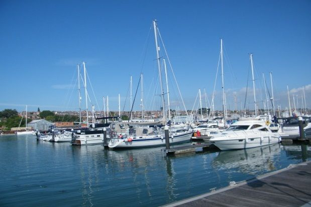 Thumbnail Flat to rent in Britannia Way, East Cowes