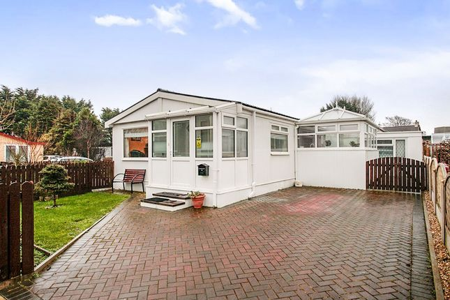 Thumbnail Mobile/park home for sale in The Lido Village, Barracks Bridge, Silloth, Wigton