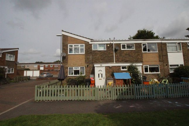 Thumbnail End terrace house for sale in Bowleymead, Swindon