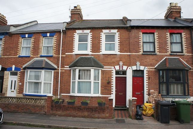 Thumbnail Terraced house for sale in Brunswick Street, St Thomas, Exeter