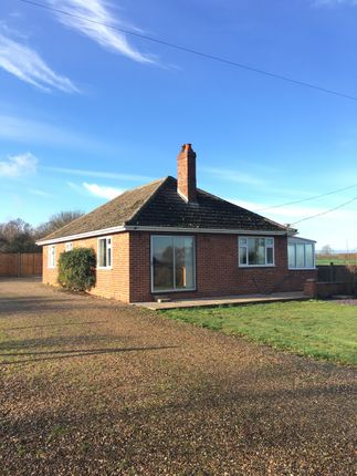 Thumbnail Detached bungalow to rent in Norwich Road, Fundenhall, Norwich