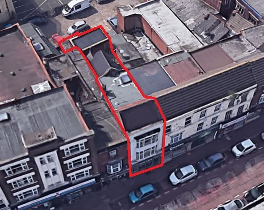 Thumbnail Block of flats for sale in High Street, Dudley
