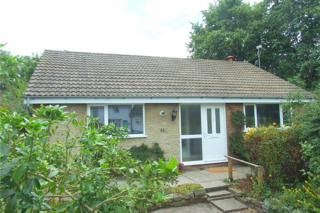 Thumbnail Detached bungalow for sale in Robincroft Road, Allestree, Derby