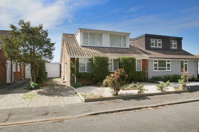 Thumbnail Semi-detached house for sale in Oakley Gardens, East Preston, West Sussex