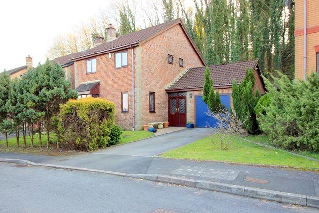 Thumbnail Detached house for sale in Lark Rise, Brackla, Bridgend.