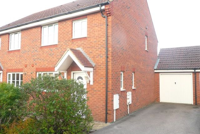 Thumbnail Semi-detached house for sale in Coltsfoot Close, Rushden