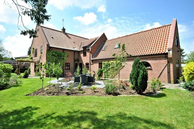 Thumbnail Detached house for sale in Church Road, Hilgay, Downham Market