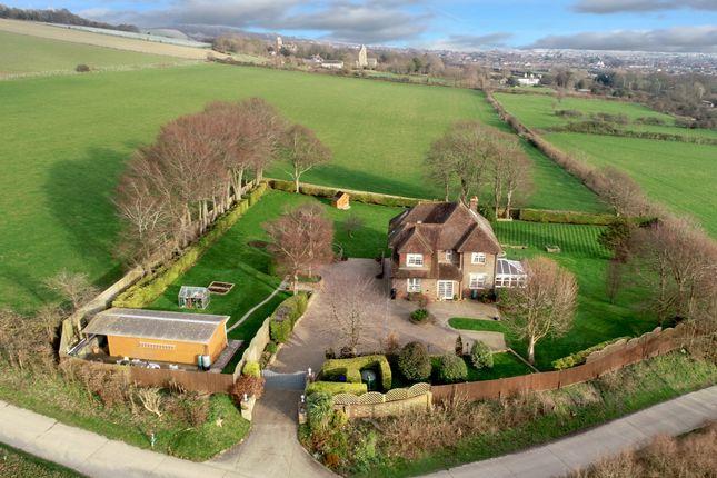 Thumbnail Detached house for sale in Lambleys Lane, Sompting, West Sussex
