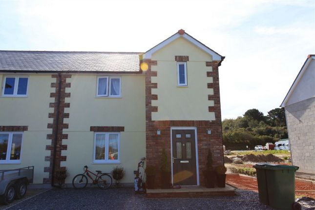 Thumbnail Semi-detached house for sale in Plot 6 Wheal Rose, Roche Road, Bugle, Cornwall