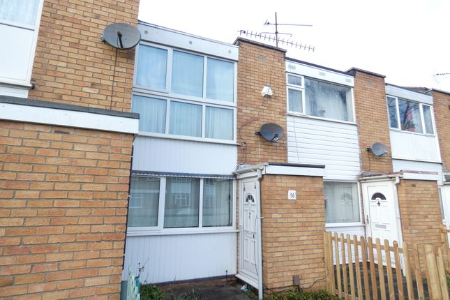 Thumbnail Town house to rent in Blakesley Walk, Beaumont Leys, Leicester