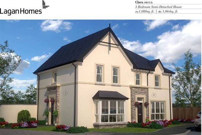 Thumbnail Semi-detached house for sale in 27, Windrush Park, Antrim