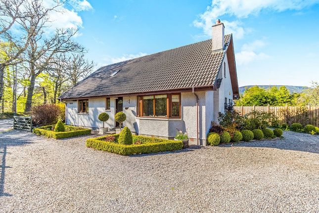 Thumbnail Detached house for sale in Carn-Mhor Glenglass Road, Evanton, Dingwall
