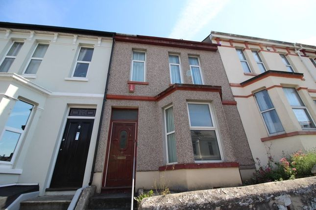 3 bed terraced house to rent in Furzehill Road, Plymouth