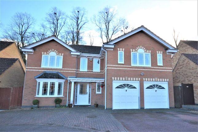 Thumbnail Detached house for sale in Excalibur Close, Duston, Northampton
