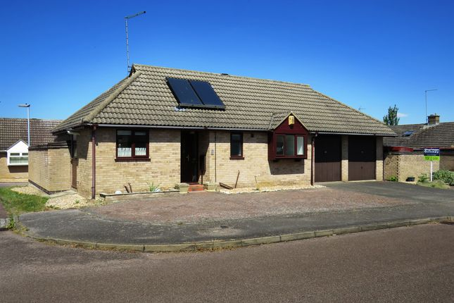Thumbnail Detached bungalow for sale in Wentworth Drive, Oundle, Peterborough
