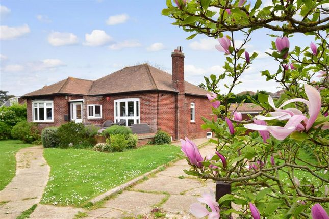 Thumbnail Detached bungalow for sale in Cliff Road, Totland Bay, Isle Of Wight