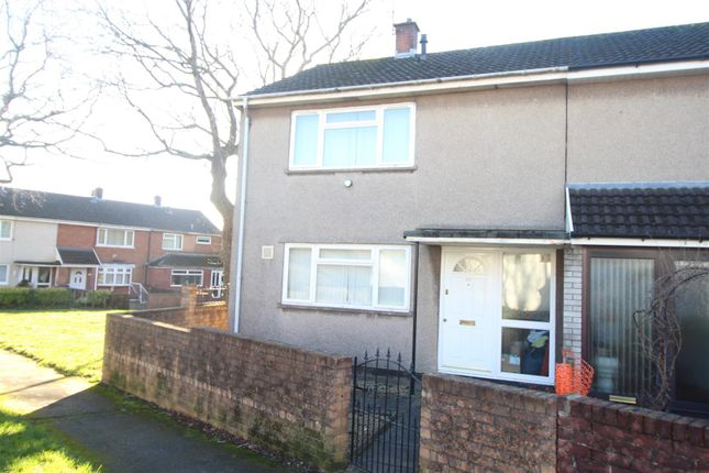 Thumbnail Semi-detached house to rent in Salisbury Court, Greenmeadow, Cwmbran