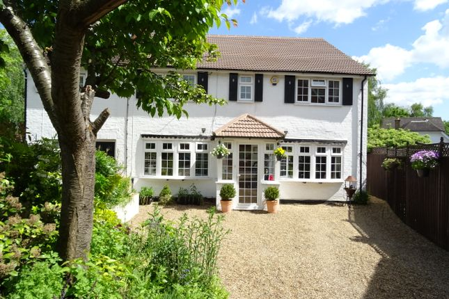 Thumbnail Cottage for sale in New Haw Road, New Haw