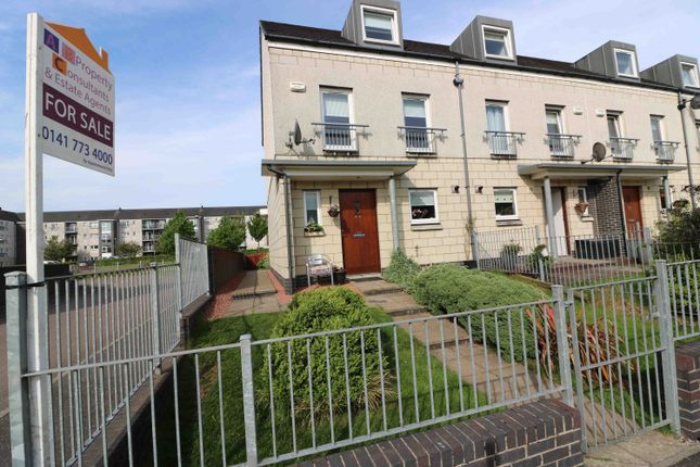 Thumbnail Town house for sale in Belvidere Avenue, Parkhead